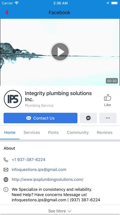 Integrity Plumbing Solutions screenshot-3