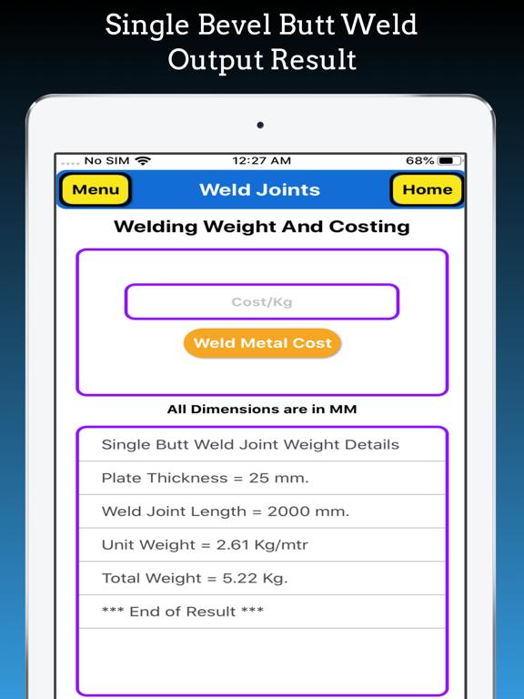 Welding Weight Calculator screenshot 18