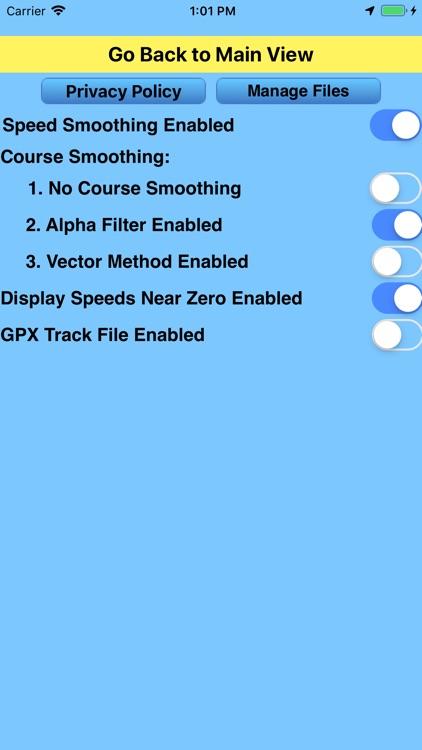 CourseSpeed screenshot-5