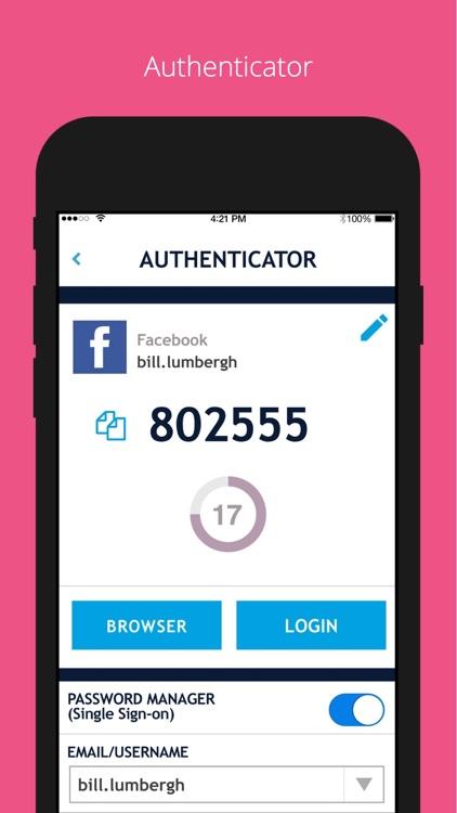 Authenticator Password Manager screenshot-4