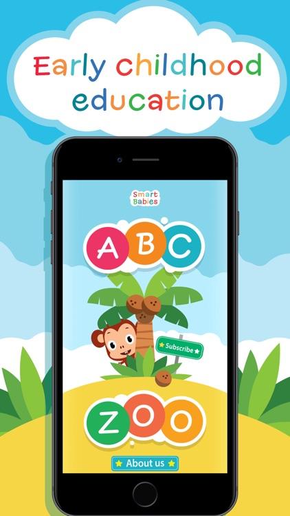 SmartBabies - Alphabet & Zoo screenshot-0