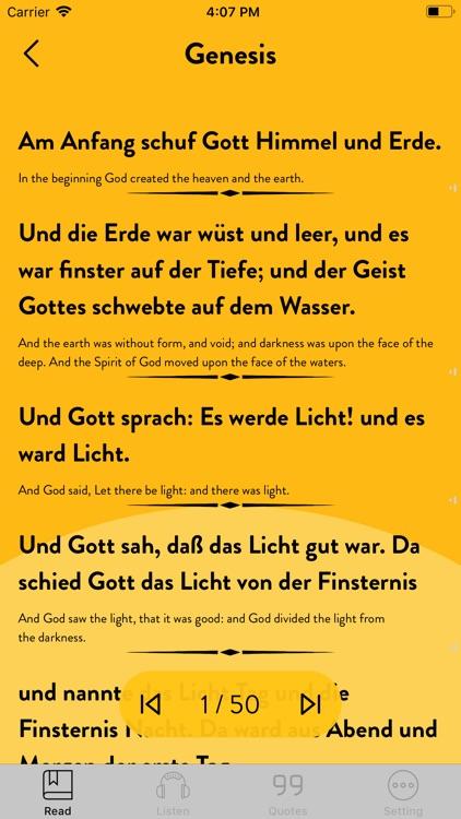 Bible German - Read, Listen screenshot-3