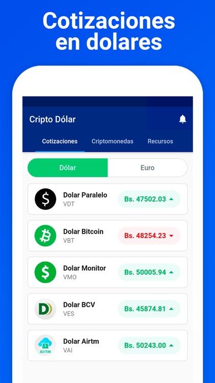 Widget de cotización de precios de criptomonedas