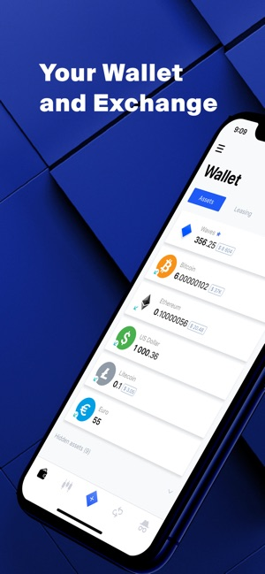 Waves Wallet Amp Crypto Exchange On The App Store