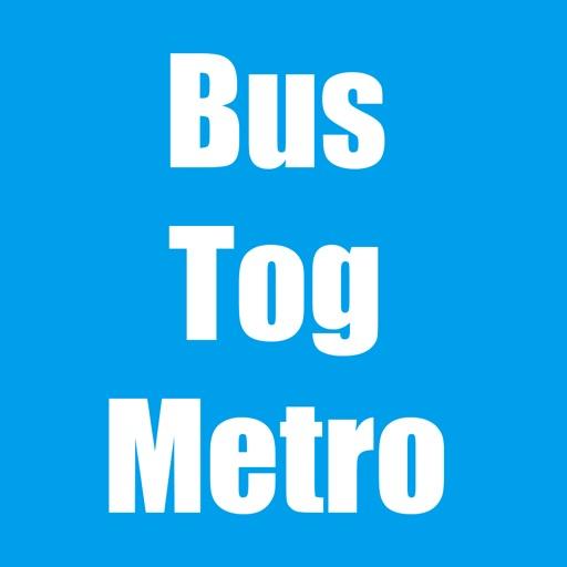Se dine rejser med Bus og Tog