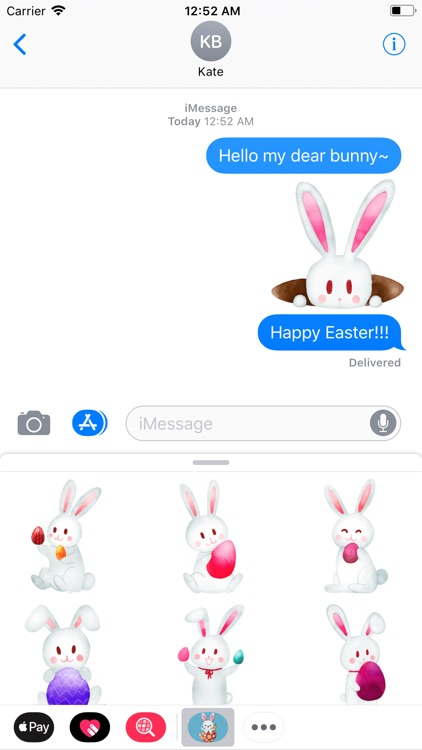 Happy Easter New Stickers
