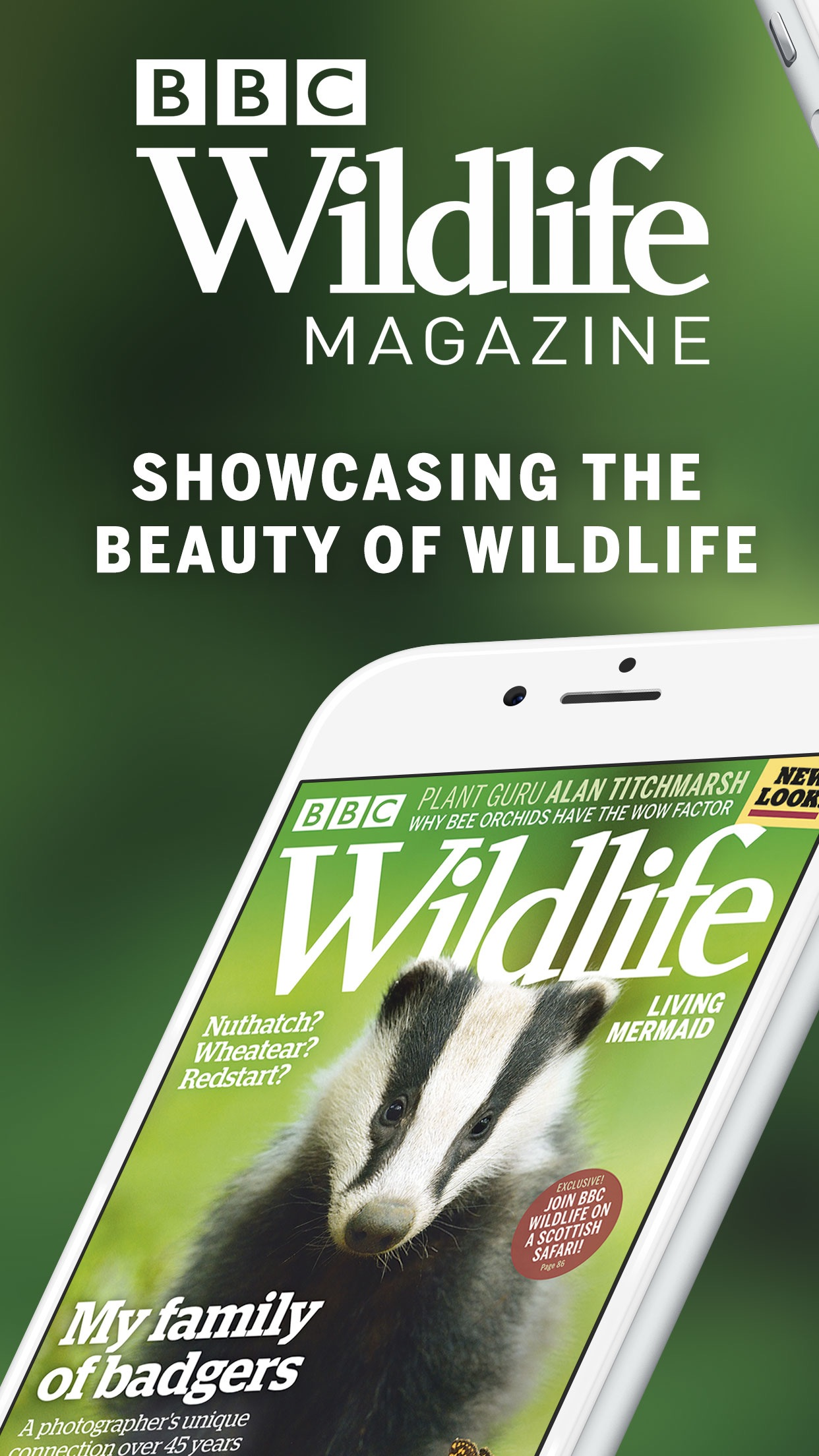 BBC Wildlife Magazine Screenshot
