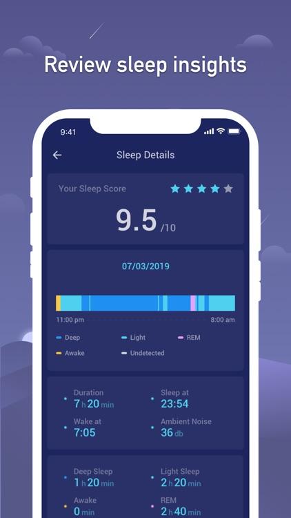 Sleep Monitor - Sleep Tracker screenshot-3