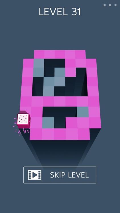 Roller Fruit: Splat Maze 3D screenshot-3