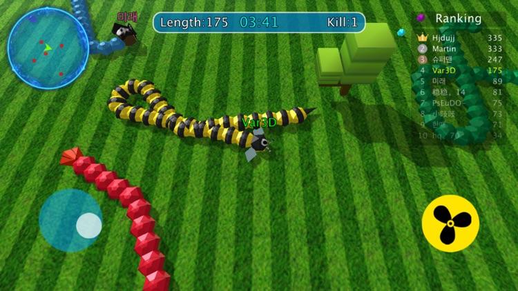 King Greedy Snake screenshot-5