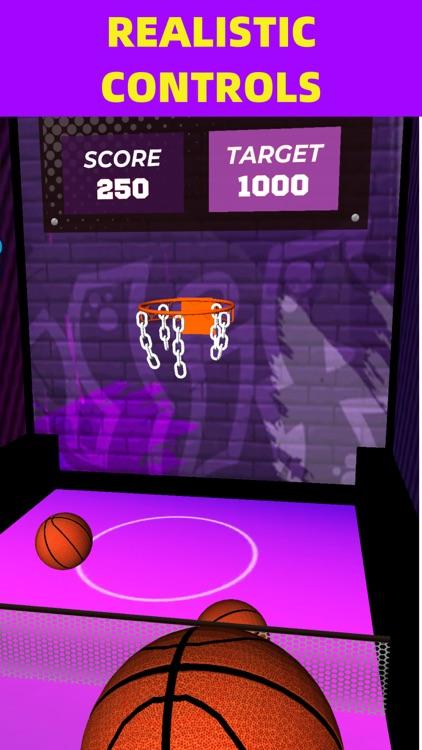 Flick Basketball Arcade Online screenshot-3