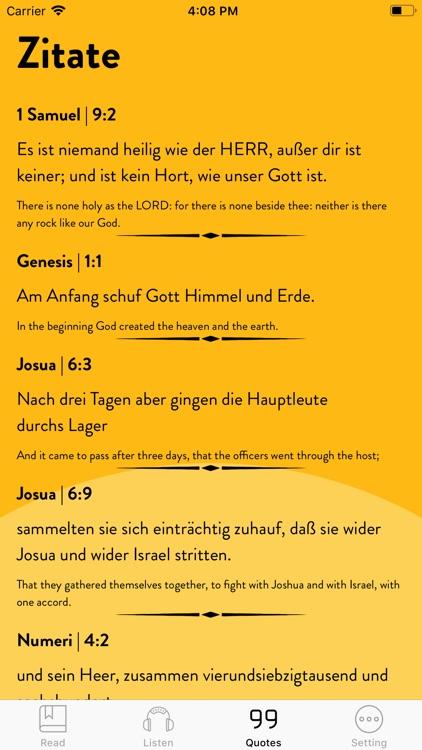 Bible German - Read, Listen screenshot-4
