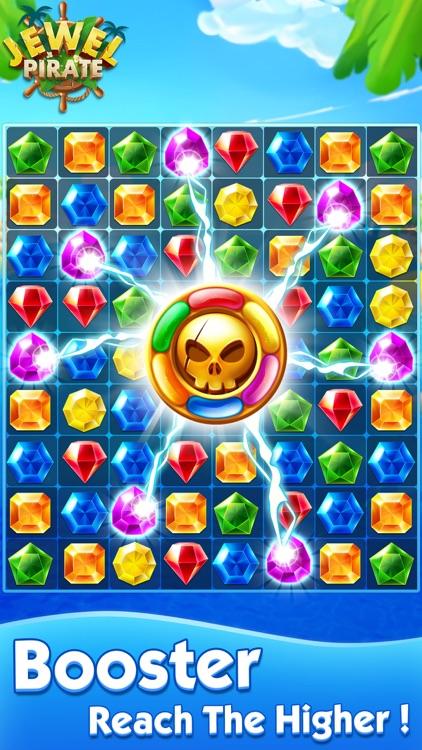 Jewel Pirate - Matching Games screenshot-3