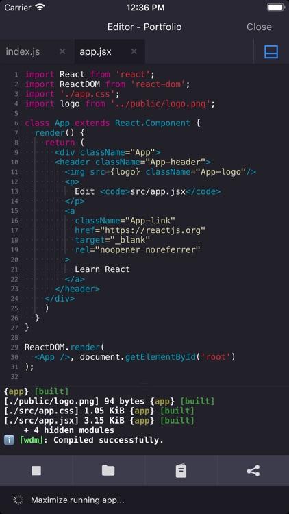 play.js - JavaScript IDE screenshot-0