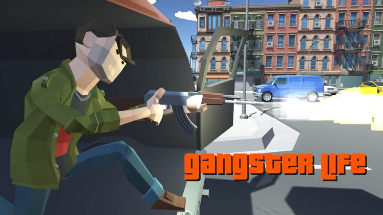 Gangster Crime Auto Polygon screenshot-6