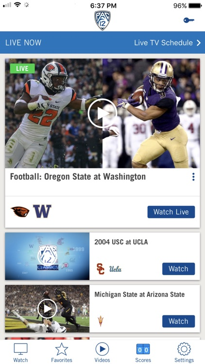 Pac-12 Now screenshot-0