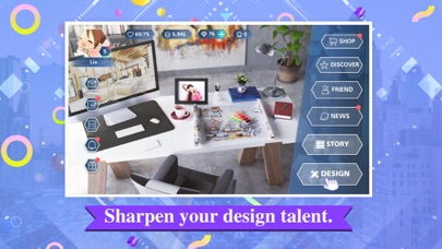 Screenshot for Design My Room: Fashion in Denmark App Store