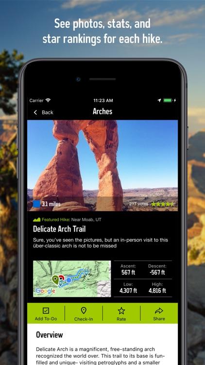 REI Co-op National Parks Guide screenshot-3