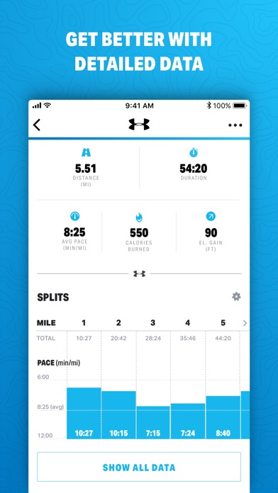 Map My Run By Under Armour review screenshots