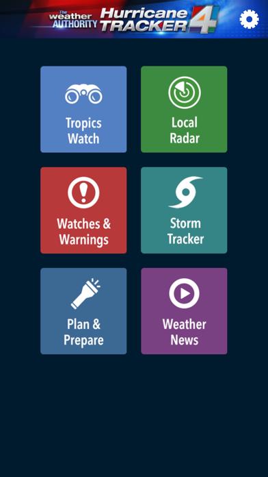 WJXT Hurricane Trackerのおすすめ画像1