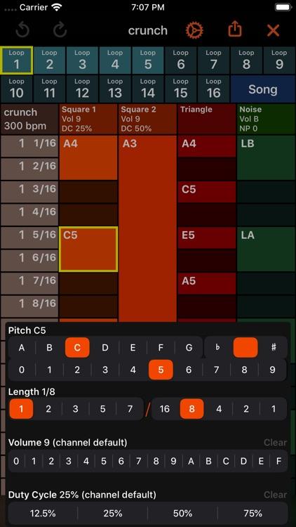 October - Chiptune Maker screenshot-3