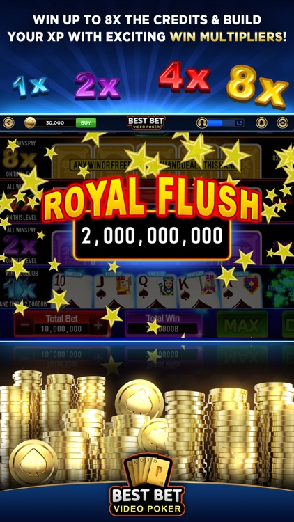 Best Bet Video Poker|50+ Games screenshot-3