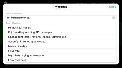 Banner 3D - scrolling text app screenshot 7