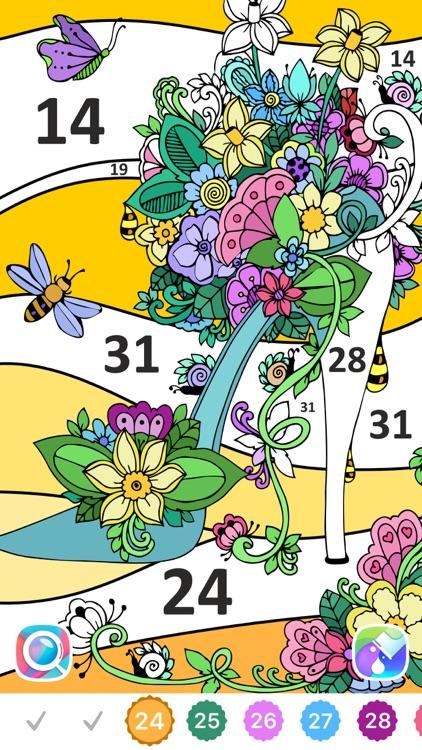 Line Art: Coloring book screenshot-7