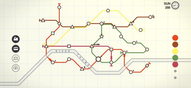 Mini Metro on the App Store