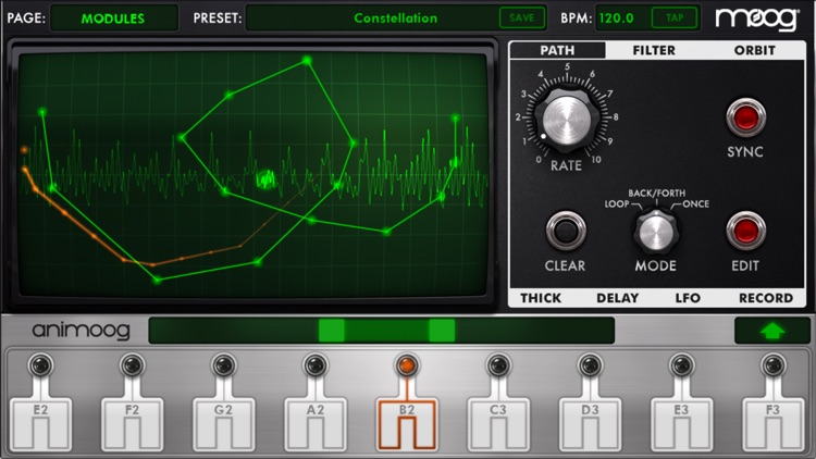 Animoog for iPhone screenshot-2