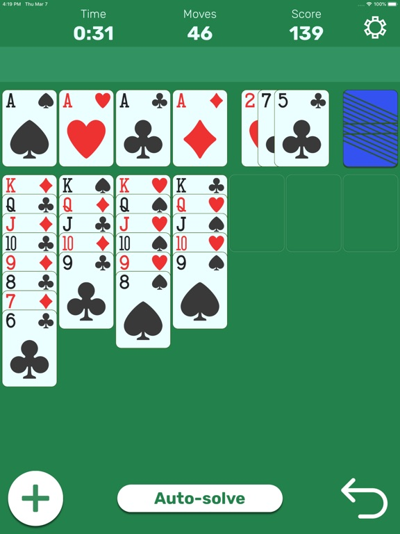 Solitaire (Classic Card Game) screenshot 4