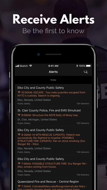 Police Scanner, Fire Radio screenshot-5