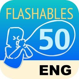 Flashables 50 English Audio