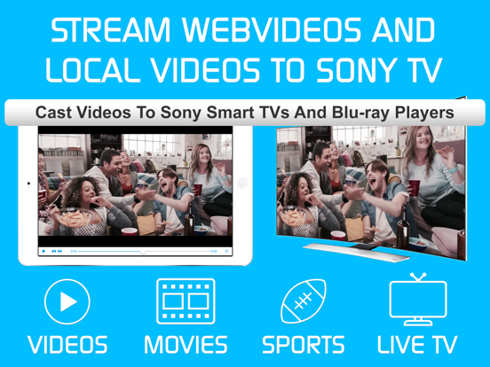 Video & TV Cast Pro for Sony screenshot 6