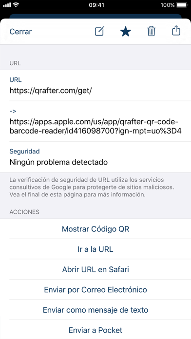 Screenshot for Qrafter Pro - Código QR in Chile App Store