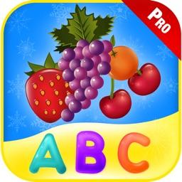 Learn ABC Alphabet Fruit Games