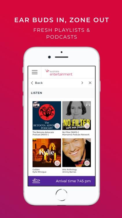 Virgin Australia entertainment screenshot-3