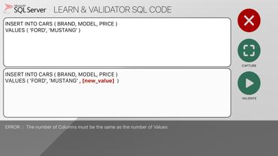 SQL language for SQL Server Screenshot