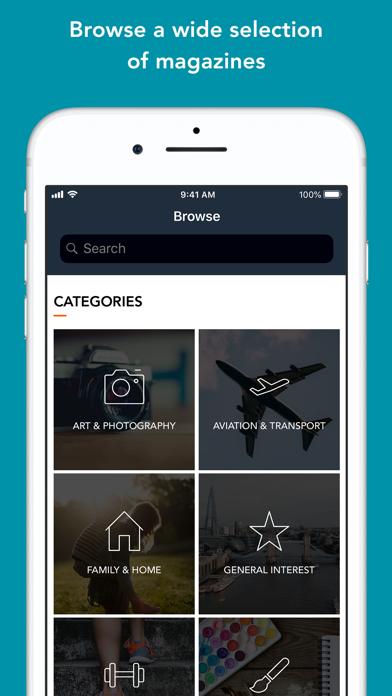 Pocketmags Digital Newsstand Screenshot