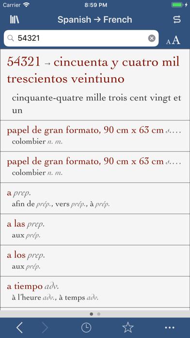Ultralingua French-Spanishのおすすめ画像3