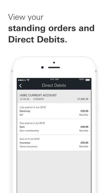 HSBC UK Mobile Banking screenshot-5
