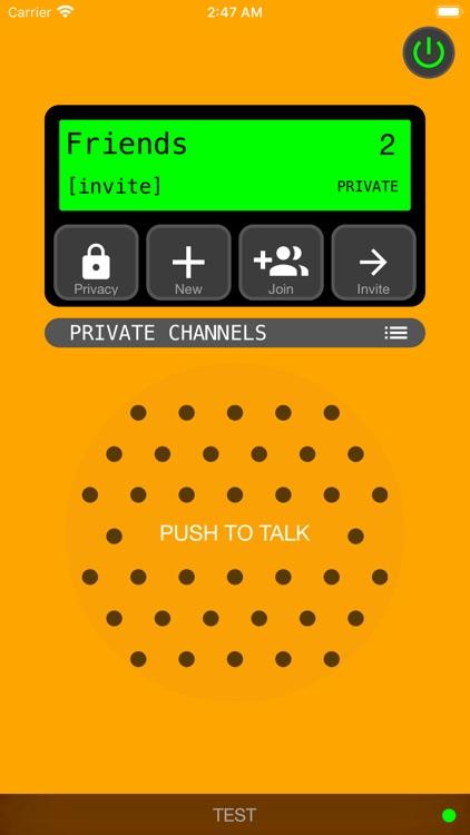 Talk Now! Walkie Talkie screenshot-3