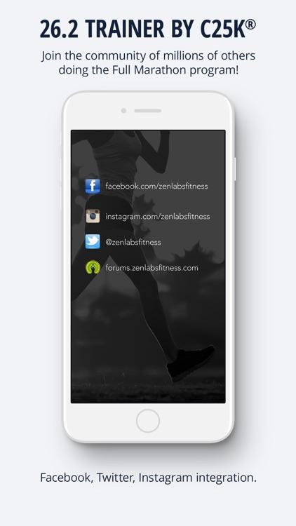 26.2 Marathon Trainer screenshot-3