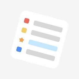 Simple List - minimalist