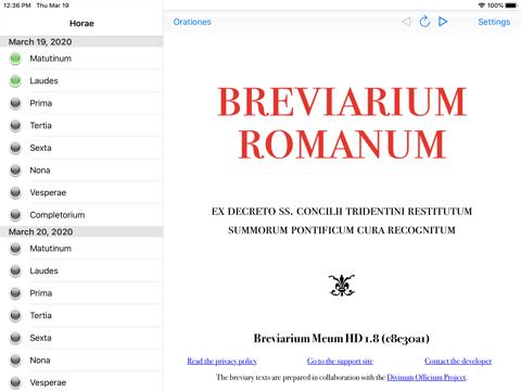 Breviarium Meum HD - náhled