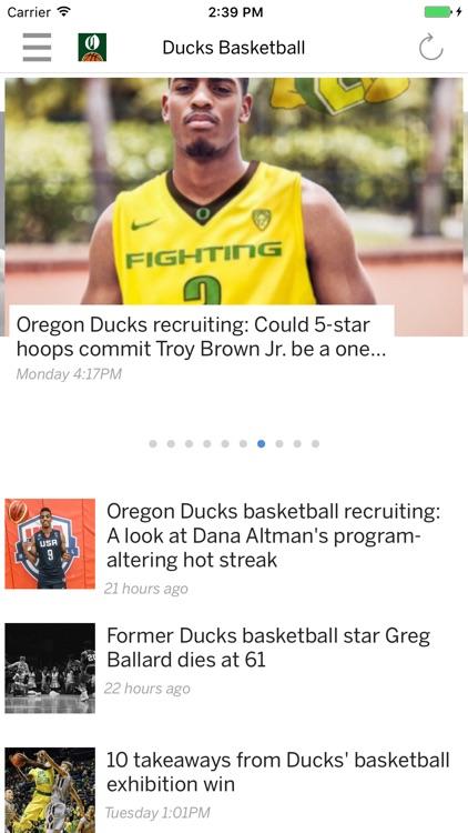 Oregon Ducks Basketball News
