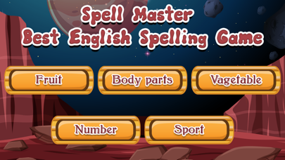 Spell Master English spelling App Download - Games - Android