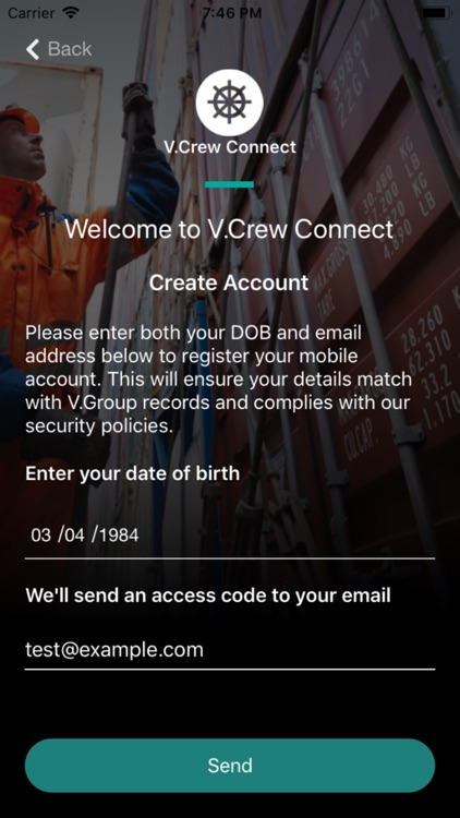 V.Crew Connect screenshot-1