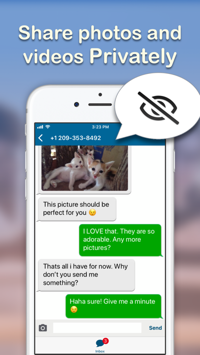 Text Burner -Texting App Screenshot