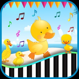 Baby Piano Duck Sound For Kids